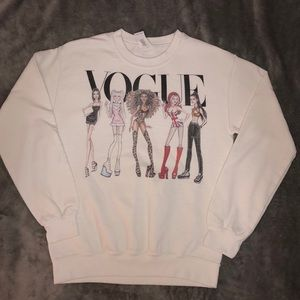 Spice Girls pullover sweater